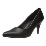 Musta Matta 7,5 cm PUMP-420 klassiset avokkaat kengät naisten