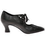 Musta Matta 7 cm VICTORIAN-03 Pumps Naisten Kengät