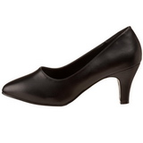 Musta Matta 8 cm DIVINE-420W Naisten kengät avokkaat