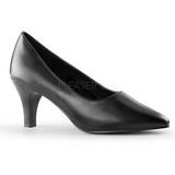 Musta Matta 8 cm DIVINE-420W Pumps Naisten Kengät