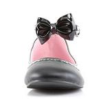 Musta Matta STAR-27 gootti ballerina kengät matalat