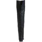 Musta Nahka 4 cm MAVERICK-8824 Reisisaappaat varten Miehet