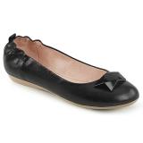 Musta OLIVE-08 ballerinat matalat kengät