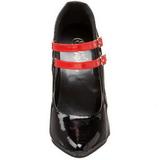 Musta Punaiset 15 cm DOMINA-442 naisten kengät korkeat korko