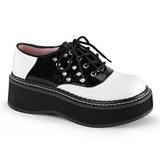 Musta Valkoinen 5 cm EMILY-303 lolita kengät gootti platform