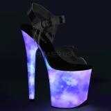 Neon 20 cm FLAMINGO-808REFL tankotanssi kengät