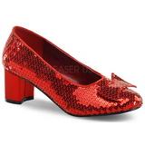 Paljetit 5 cm DOROTHY-01 Naisten kengät avokkaat