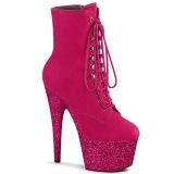Pink glitter 18 cm ADORE-1020FSMG tankotanssi nilkkurit