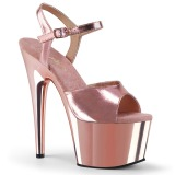 Pinkit 18 cm ADORE-709 Kromi Platform Korkosandaalit