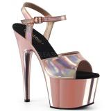 Pinkit 18 cm ADORE-709HGCH Hologrammi platform korkokengät naisten