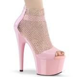 Pinkit 18 cm ADORE-765RM kimallus platform korkokengät naisten