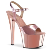 Pinkit 18 cm SKY-309 Kromi Platform Korkosandaalit