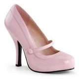 Pinkit Lakatut 12 cm retro vintage CUTIEPIE-02 avokkaat mary jane kengät piilotettu platform