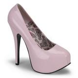 Pinkit Lakka 14,5 cm Burlesque BORDELLO TEEZE-06 Platform Avokkaat Kengät