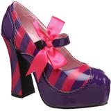 Pinkit Purppura 13 cm KITTY-32 naisten kengät korkeat korko