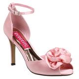 Pinkit Satiini 9,5 cm ROSA-02 Naisten Sandaletit Korkea