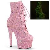 Pinkit glitter 18 cm ADORE-1020GDLG tankotanssi nilkkurit