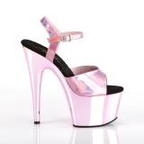 Pinkki 18 cm ADORE-709HGCH Hologrammi platform korkokengät naisten