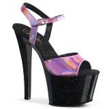 Pinkki 18 cm SKY-309HG Hologrammi platform korkokengät naisten