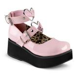 Pinkki 6 cm SPRITE-02 lolita gootti kengät