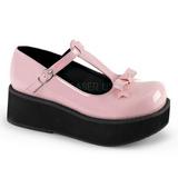 Pinkki 6 cm SPRITE-03 lolita kengät gootti platform kengät paksut pohjat