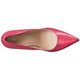 Pinkki Lakatut 10 cm CLASSIQUE-20 Avokkaat Kengät Piikkikorko