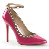 Pinkki Lakatut 13 cm AMUSE-28 klassiset avokkaat kengät naisten