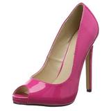 Pinkki Lakatut 13 cm SEXY-42 klassiset avokkaat kengät naisten