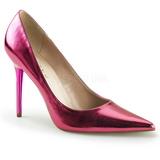 Pinkki Metallinen 10 cm CLASSIQUE-20 Avokkaat Kengät Piikkikorko