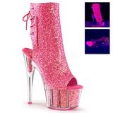 Pinkki kimallus 18 cm ADORE-1018G korokepohja nilkkurit korkeat korko