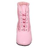 Pinkki pitsi kangas 5 cm DAME-05 Naisten Nauhalliset Nilkkurit