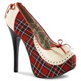 Pleedi Kuvio 14,5 cm Burlesque TEEZE-26 naisten kengät korkeat korko