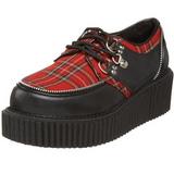 Pleedi Kuvio 5 cm CREEPER-113 creepers kengät naisten paksut pohjat