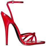 Punainen 15 cm Devious DOMINA-108 naisten korkosandaalit