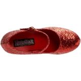 Punainen Kimalle 7,5 cm GLINDA-50G Avokkaat Mary Jane