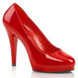 Punainen Lakatut 11,5 cm FLAIR-480 naisten avokkaat kengät miehille