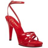 Punainen Lakatut 12 cm FLAIR-436 Naisten Sandaletit Korkea