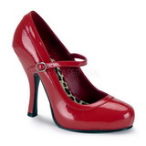 Punainen Lakatut 12 cm rockabilly PRETTY-50 Naisten kengät avokkaat