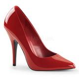 Punainen Lakatut 13 cm SEDUCE-420 Pumps Naisten Kengät