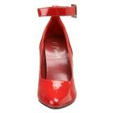 Punainen Lakatut 13 cm SEDUCE-431 Avokkaat stilettos miehille