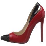 Punainen Lakatut 13 cm SEXY-22 klassiset avokkaat kengät naisten
