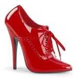 Punainen Lakatut 15 cm DOMINA-460 Pumps Naisten Avokkaat Kengät