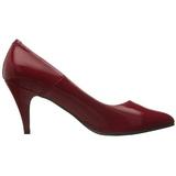 Punainen Lakatut 7,5 cm PUMP-420 klassiset avokkaat kengät naisten