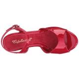 Punainen Lakatut 8 cm BELLE-309 Naisten Sandaletit Korkea