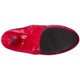 Punainen Lakka 15,5 cm DELIGHT-1020 Platform Nilkkasaappaat