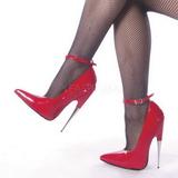 Punainen Lakka 15 cm SCREAM-12 Fetish Avokkaat Kengät