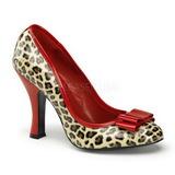 Punainen Leopardi 10 cm SMITTEN-01 Pumps Naisten Kengät