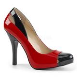 Punaiset Kiiltonahka 12,5 cm EVE-07 suuret koot avokkaat kengät