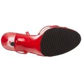 Punaiset Lakatut 12 cm FLAIR-436 Naisten Sandaletit Korkea
