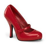 Punaiset Lakatut 12 cm retro vintage CUTIEPIE-02 avokkaat mary jane kengät piilotettu platform